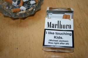 cigarette packet 1