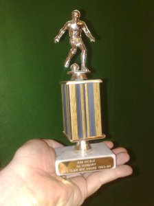 1st sunbury reserve team appearance award 1983-84